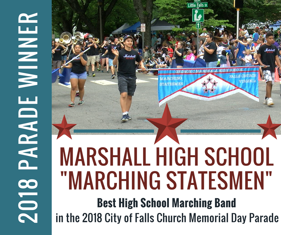 "Best Marching Band (High School): George C. Marshall ""Marching Statesmen"""