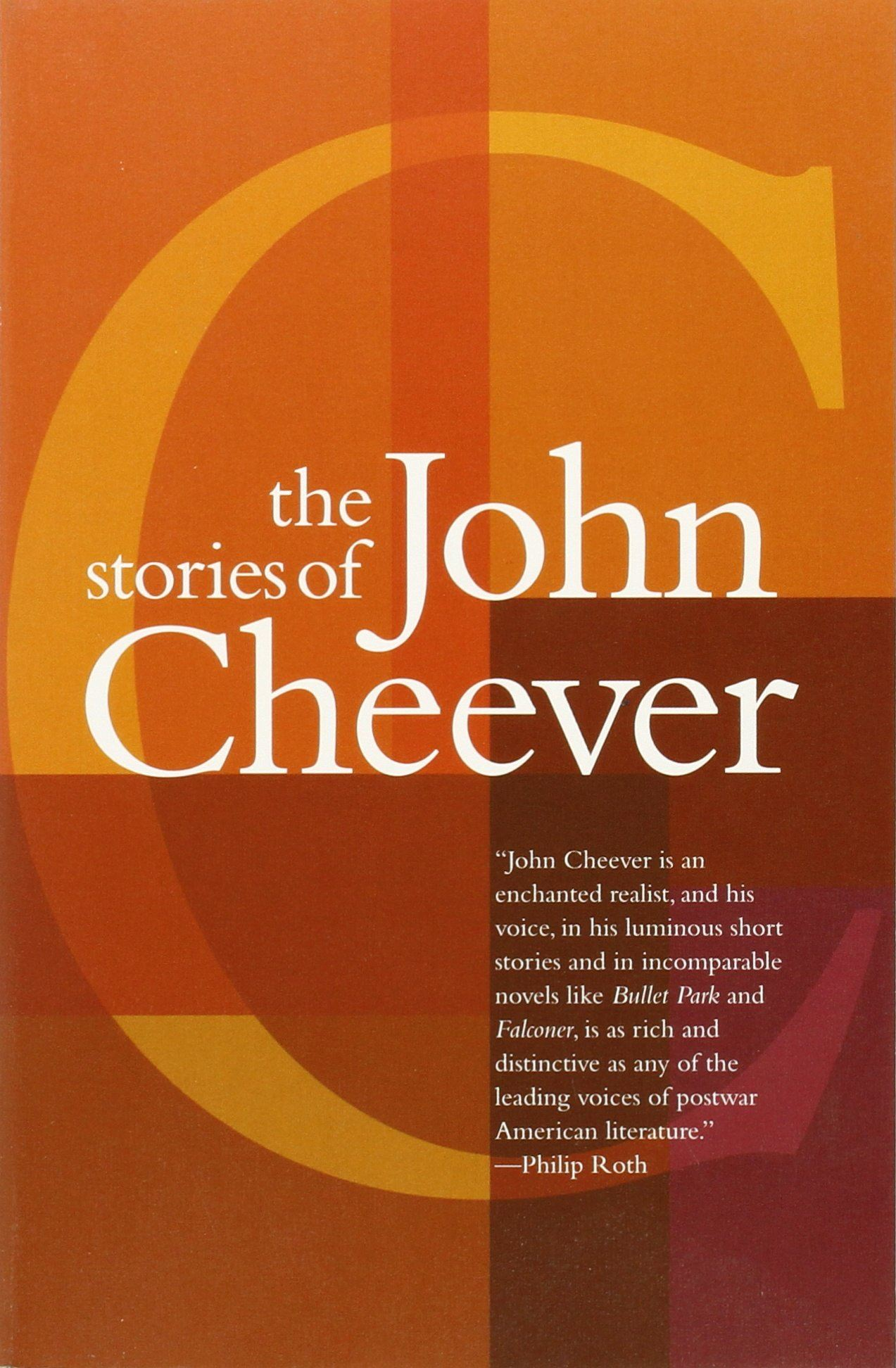 The Stories of John Cheever (book cover)