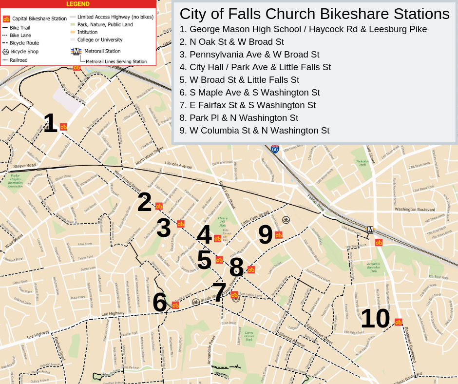 Capital Bikeshare Expansion | Falls Church, VA - Official ... on chicago map, stars map, united map, europe map, tigers map, climate map, landscape map, physical features map, science map, history map,