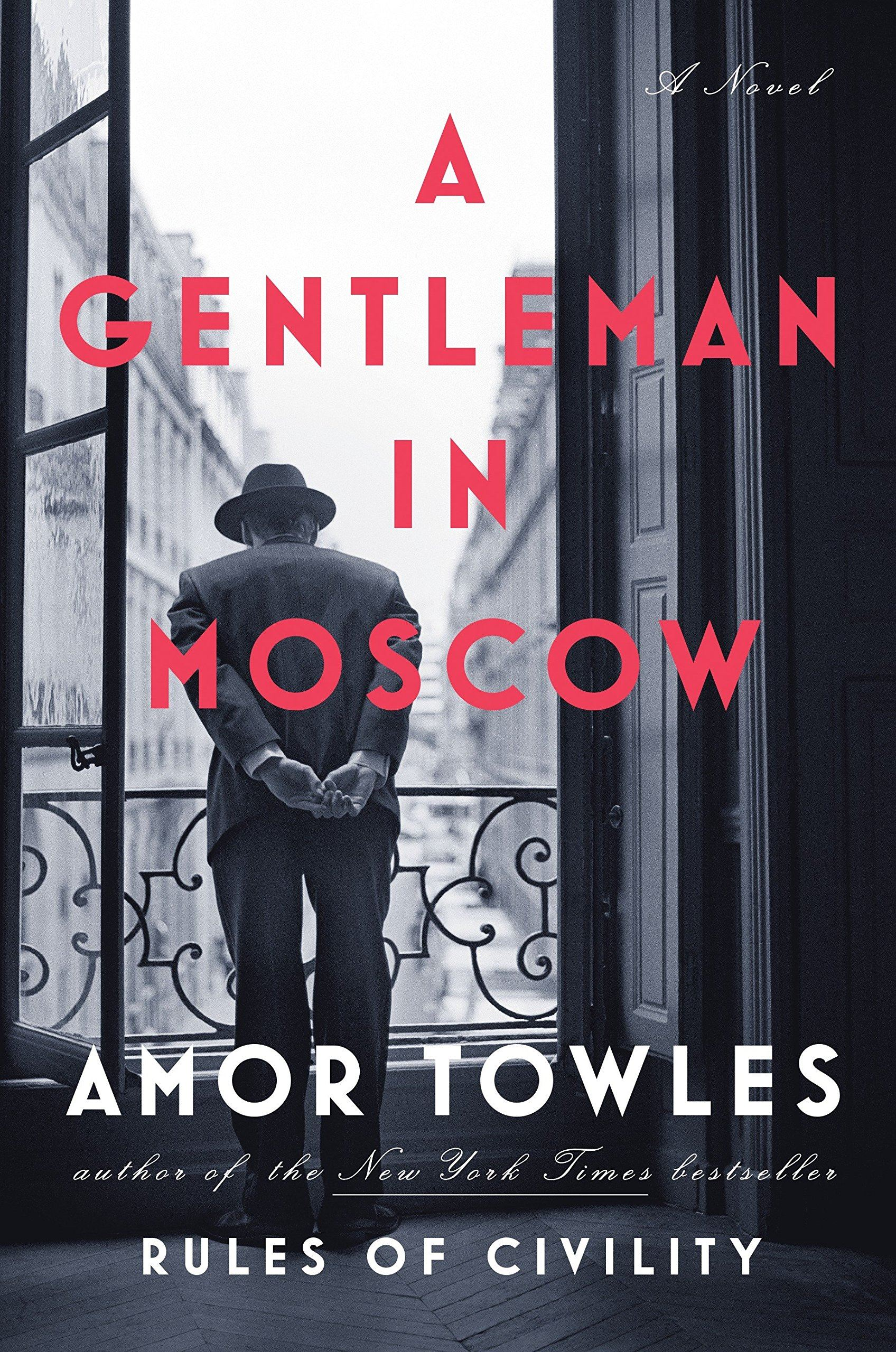 A Gentleman in Moscow (book cover)