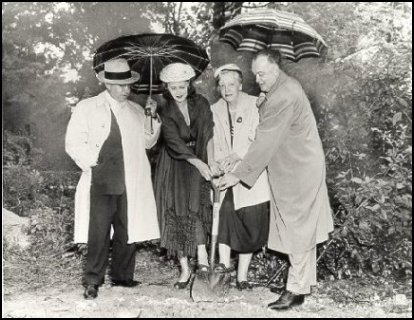 Library Groundbreaking
