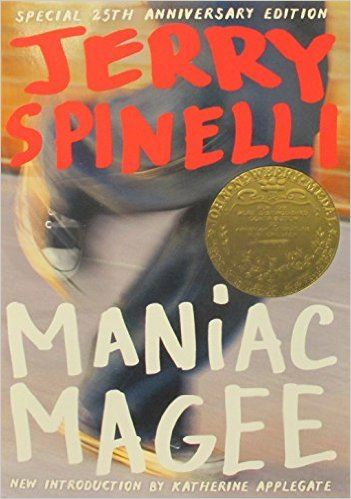 Maniac Magee (book cover)