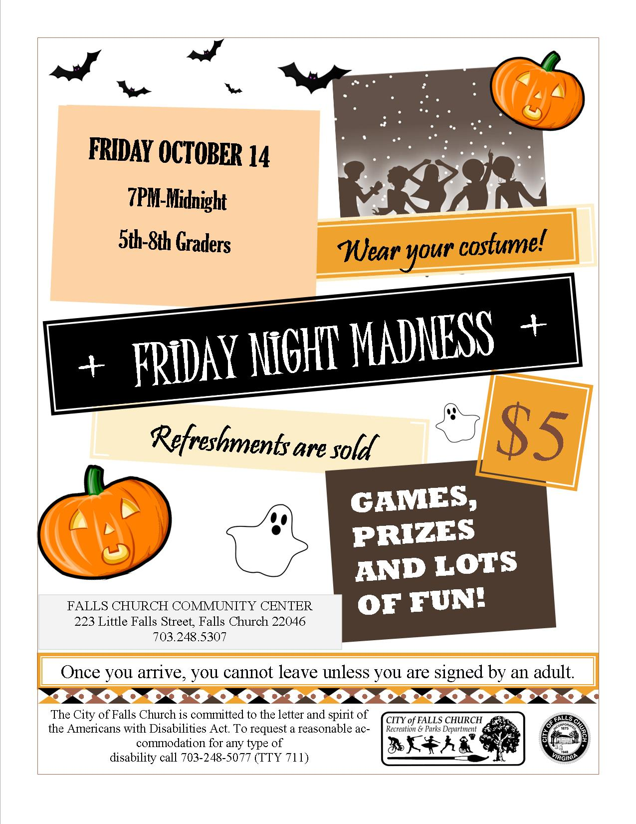 Midnight Madness Flyer Image