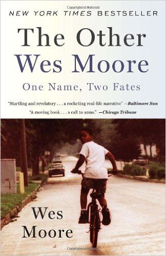 The Other Wes Moore (book cover)