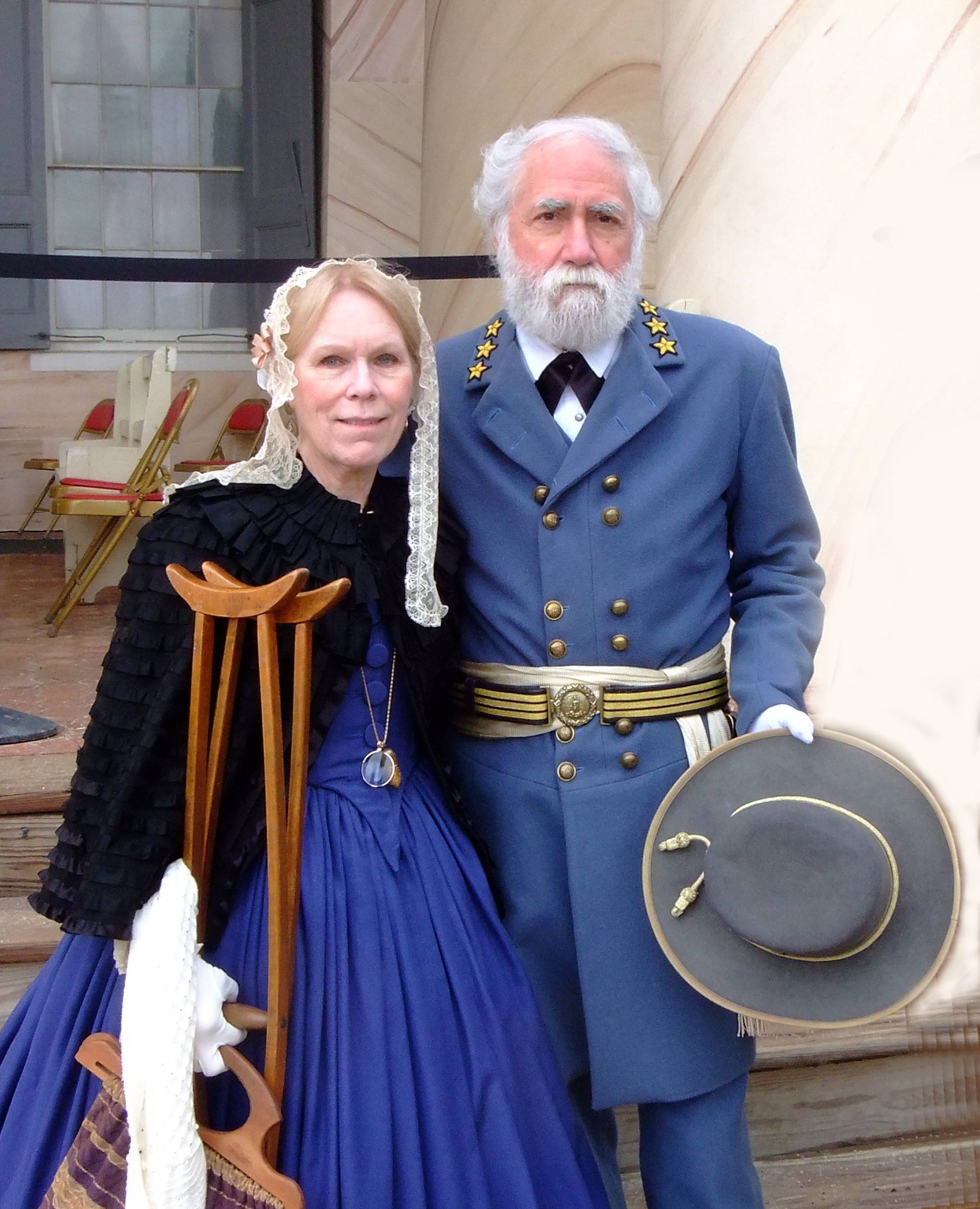 General and Mrs. Lee - Civil War Day