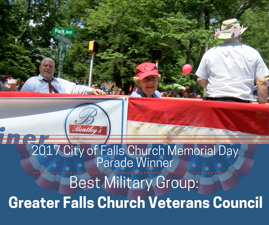 Best Military Group: Greater Falls Church Veterans Council