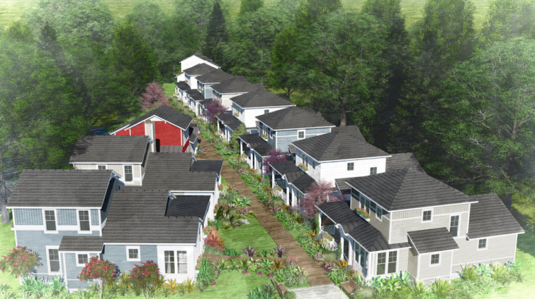 Railroad Cottages Render