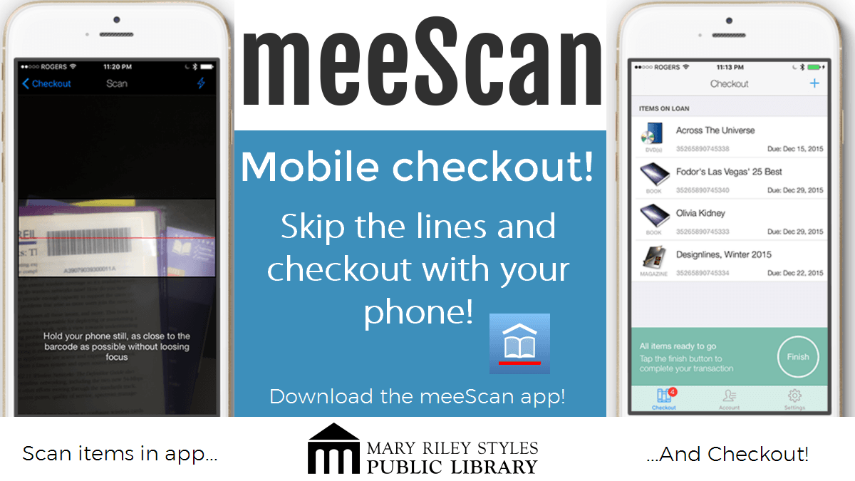 MeeScan mobile checkout image