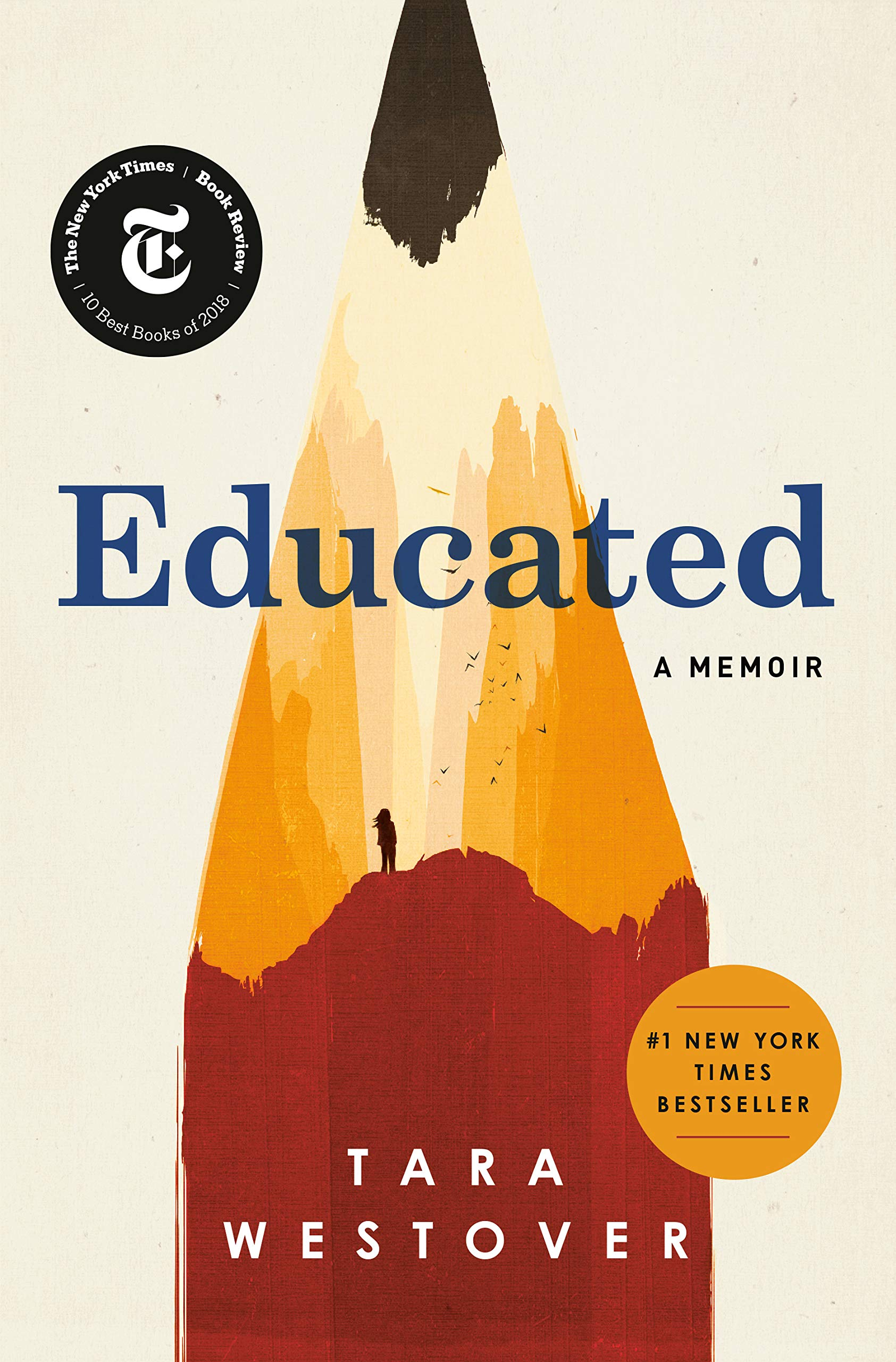 Educated (book cover)