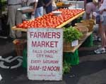 Farmer market sign