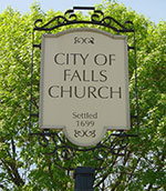 City of Falls Church sign