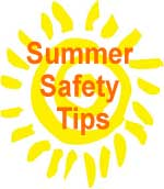 Summer Safety Tips Sun