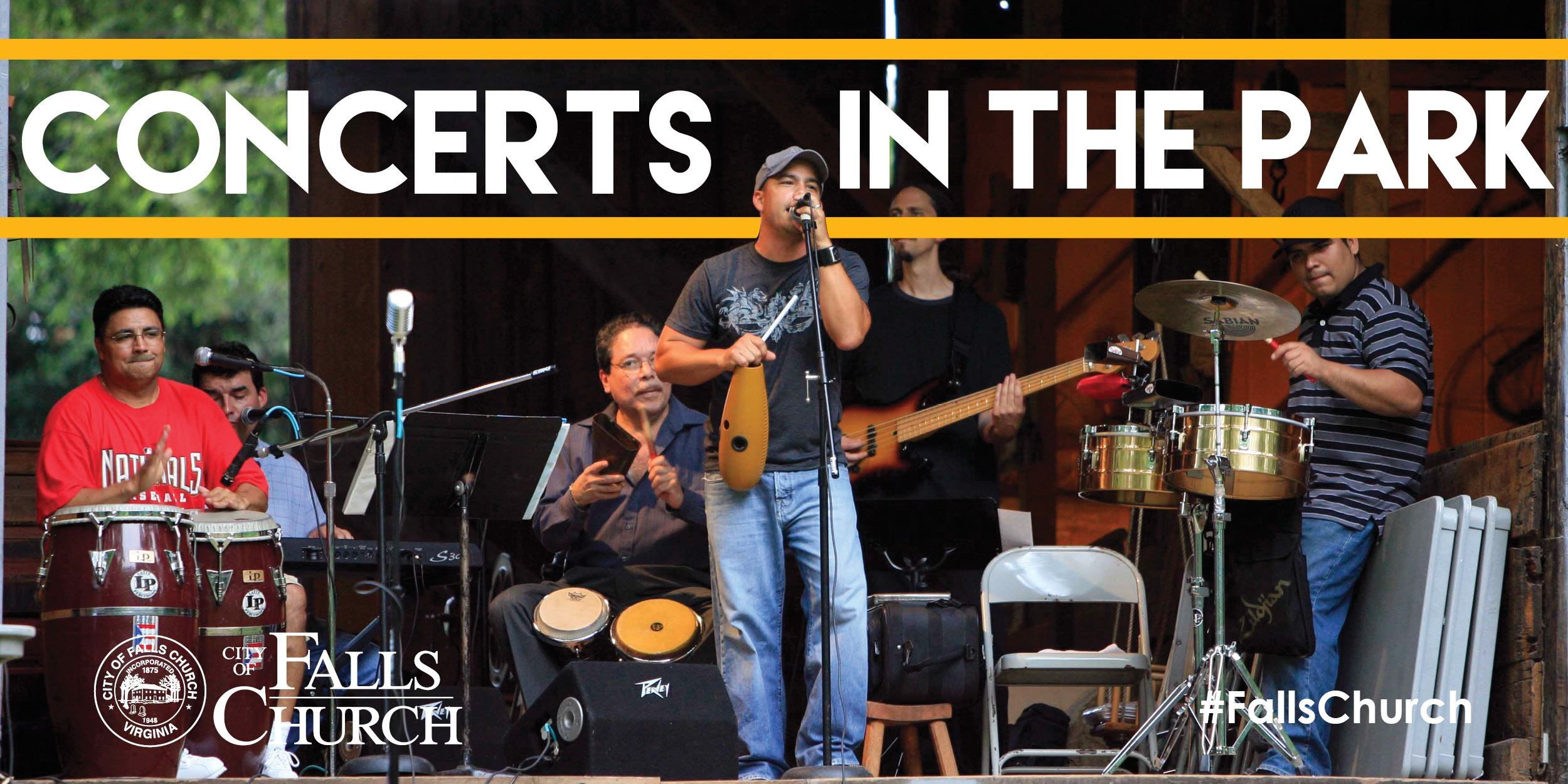 Concerts in the Park | Falls Church, VA - Official Website