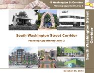 South Washington Street Small Area Plan Cover