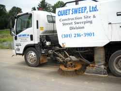 Photo of a Quiet Sweep truck