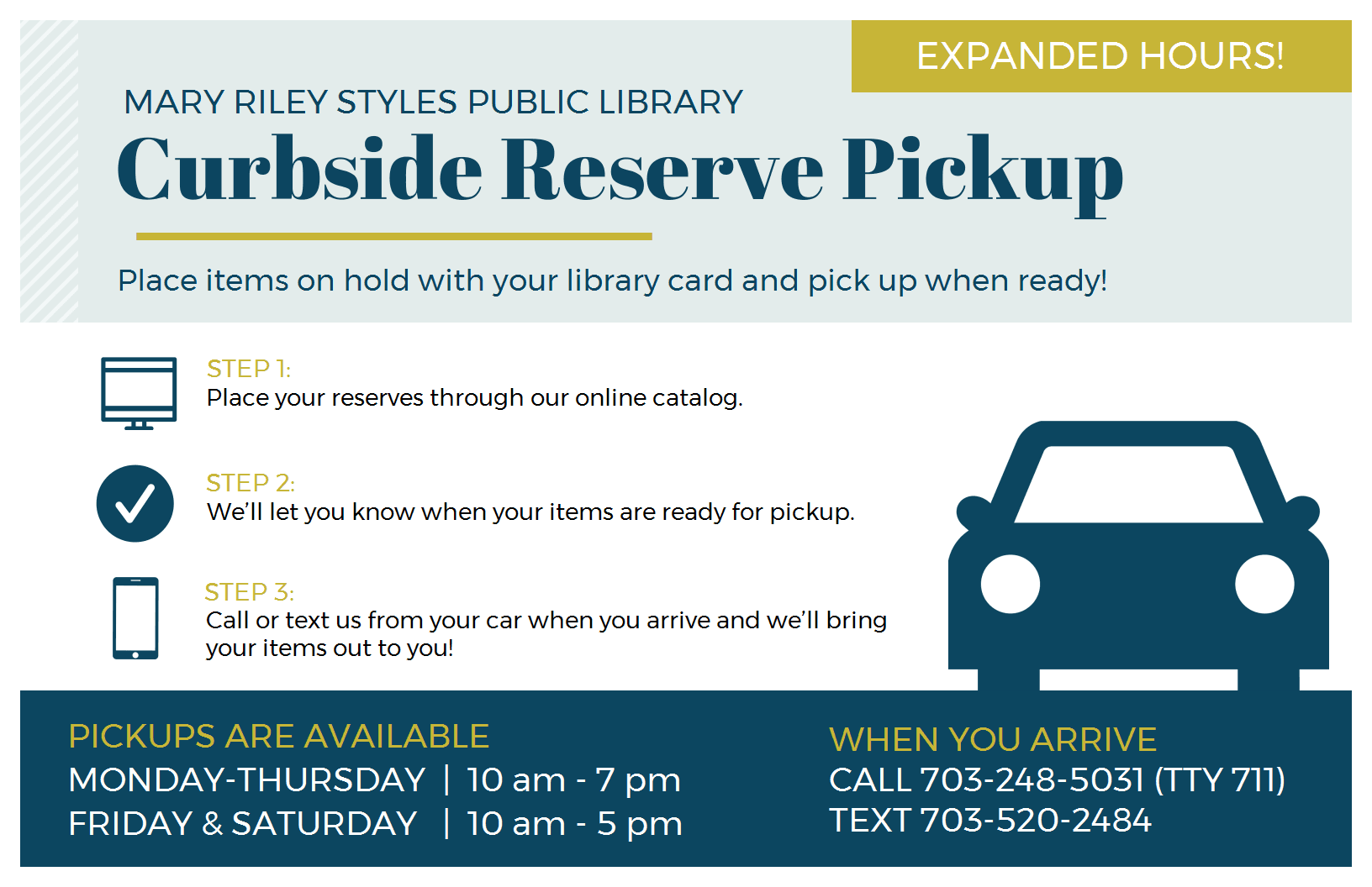 Curbside Reserve Pickup